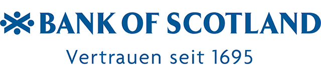 Logo der Bank of Scotland