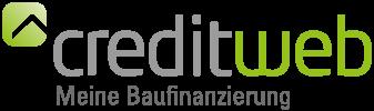 Das Logo von creditweb