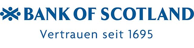 Logo der Bank of Scotland