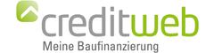 Logo von creditweb Baufinanzierung
