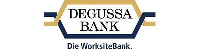 Logo von Degussa Bank